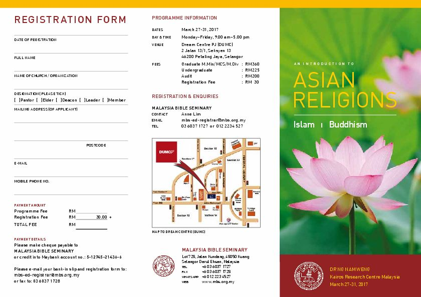 an introduction to the religions of islam and buddhism Rel st 1100—intro to religion (3)  traditions studied may include hinduism,  buddhism, chinese and japanese religions, judaism, christianity, and islam.